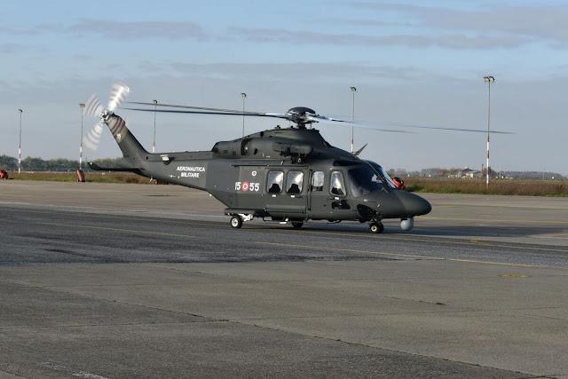 Leonardo Company entrega primeiro helicóptero HH-139B para Força Aérea Italiana | É MAIS QUE VOAR