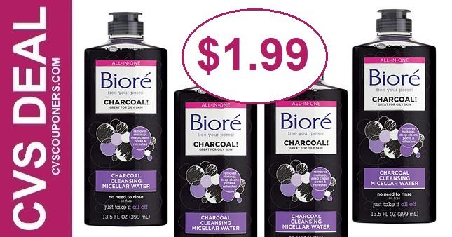 Biore Cleanser CVS Deal $1.99 2-9-2-15