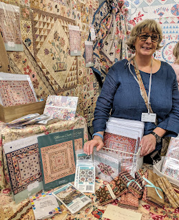 Margaret Mew at the festival of quilts 2019