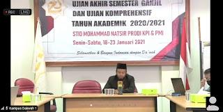 Pembukaan UAS Ganjil 2020-2021 STID Mohammad Natsir