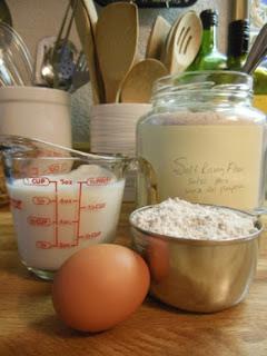 How to make Whole Wheat Self-Rising Flour.