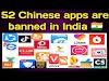 ५२ चायनिस अॅप्स ज्यांना भारतात प्रतिबंधित केले पाहिजे / 52 chinese apps must be totally banned in India