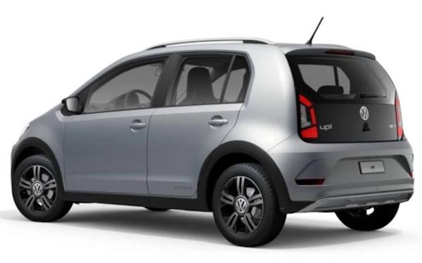 Novo Up! 2021 com 4 lugares já está no site da VW