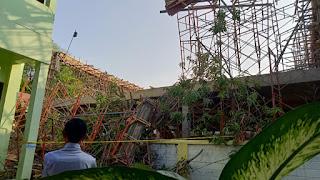 Gedung Disdukcapil Kota Cirebon Roboh, 3 Pekerja Terluka
