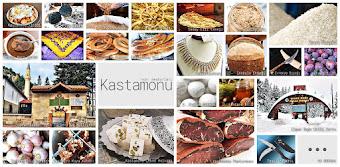 Kastamonu'nun meşhur şeylerini gösteren resimlerden oluşan kolaj
