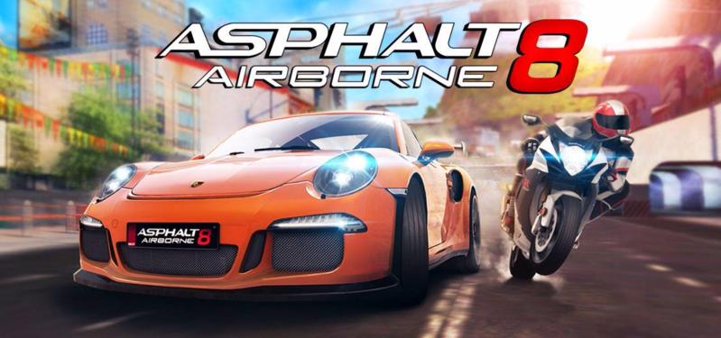 تحميل لعبة اسفلت Asphalt 8 Airborne مهكرة كاملة اخر اصدار