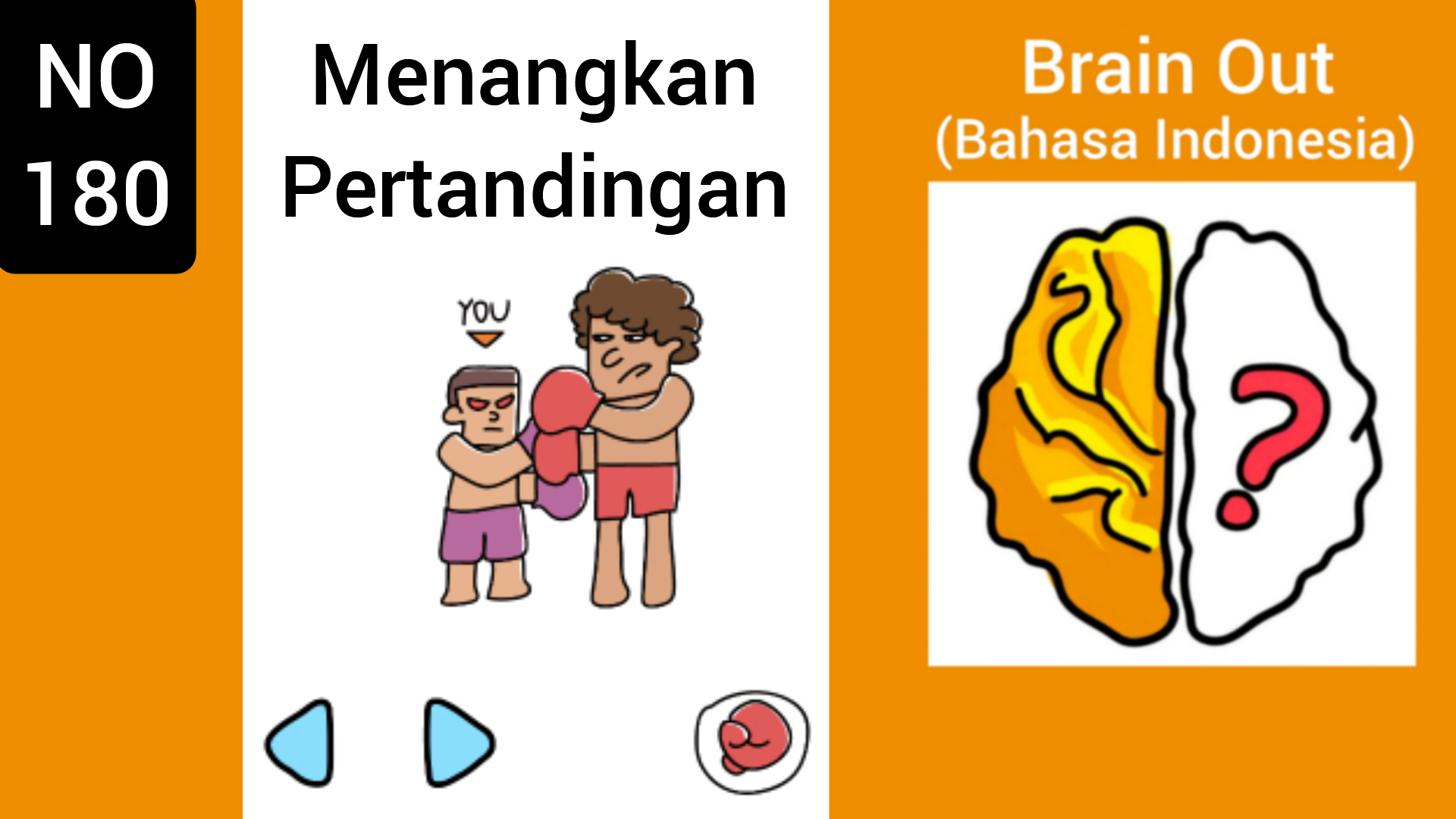 Brain Out Level 180 Menangkan Pertandingan Terbaru 2020