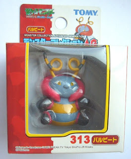 Volbeat Pokemon figure Tomy Monster Collection AG series