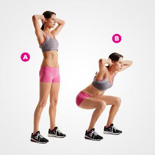 thể dục cho bà bầu dụng cụ squat