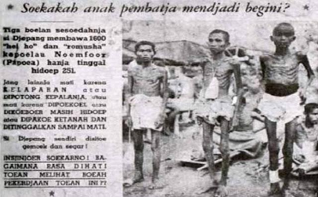 Penindasan Penjajahan Jepang di Indonesia