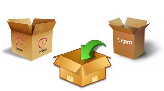 Como converter pacotes de diversas distribuições Linux DEB, RPM, PKG, TGZ e outros!