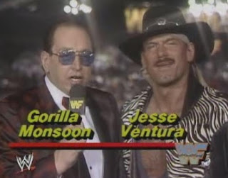 WWF / WWE WRESTLEMANIA 4: Gorilla Monsoon and Jesse Ventura