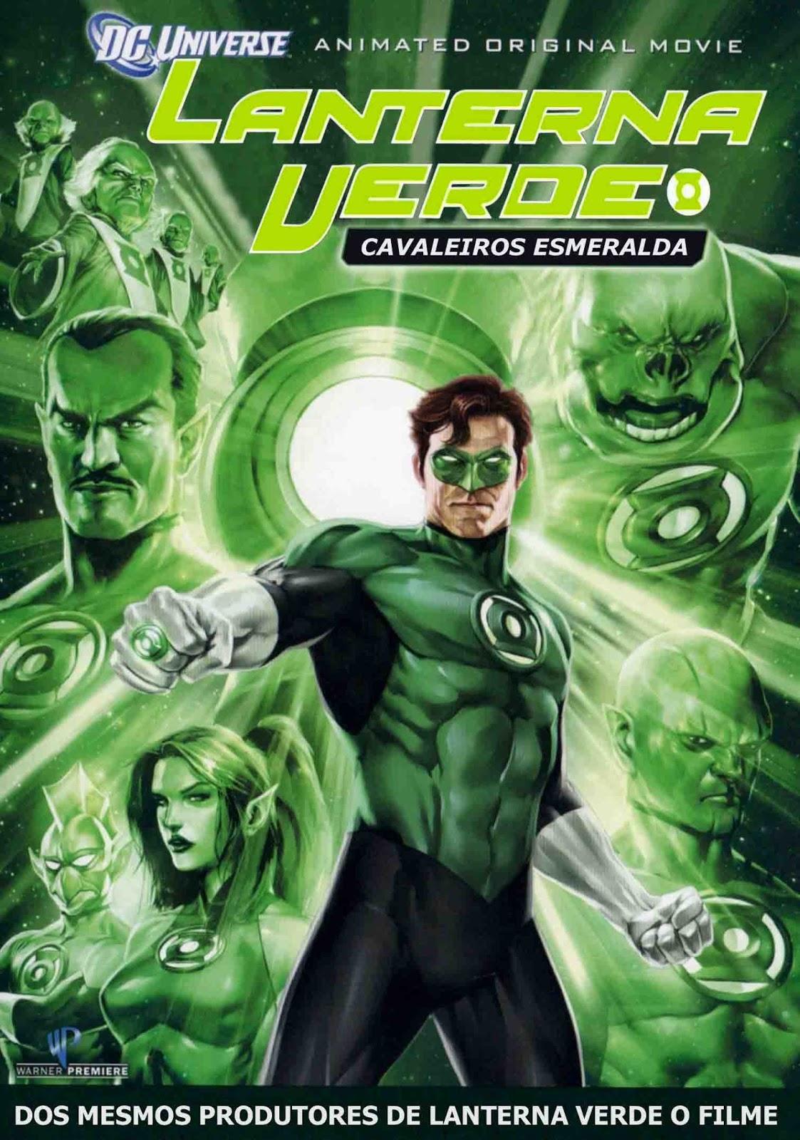 Lanterna Verde: Cavaleiros Esmeralda Torrent - Blu-ray Rip 1080p Dual Áudio (2011)