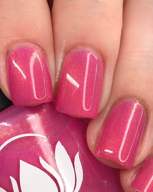 Ethereal Lacquer Flamingo 25 Sweetpeas