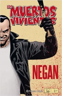 portada Los Muertos Vivientes: Negan