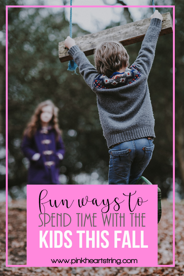 Fun Ways to Spend Time with the Kids This Fall