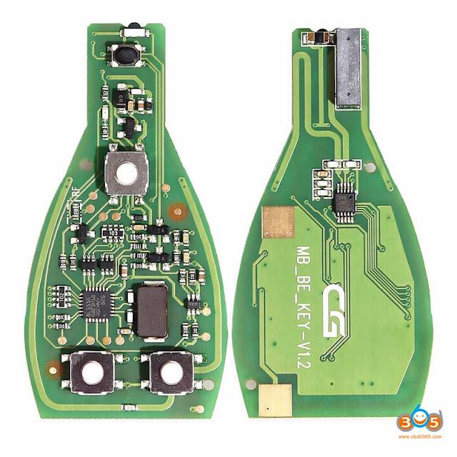 Change CGDI MB IR transmitter and receiver 5