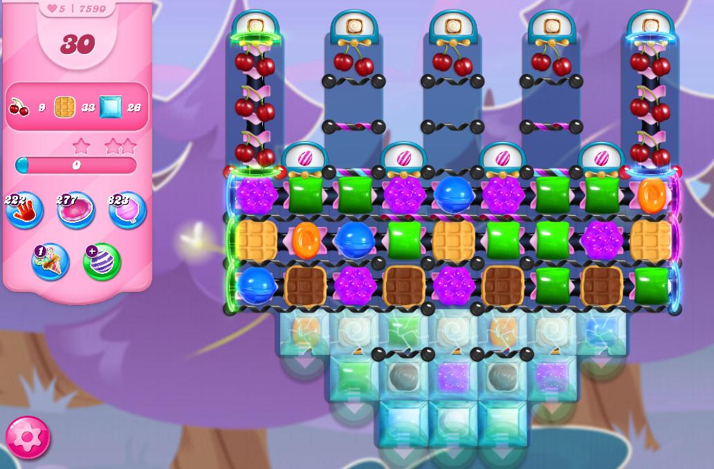 Candy Crush Saga level 7590