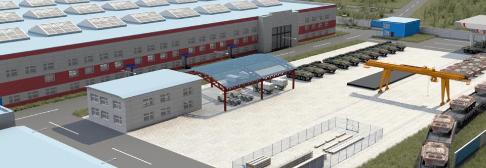 Укрспецекспорт побудує завод для ремонту бронетехніки у Південній Азії