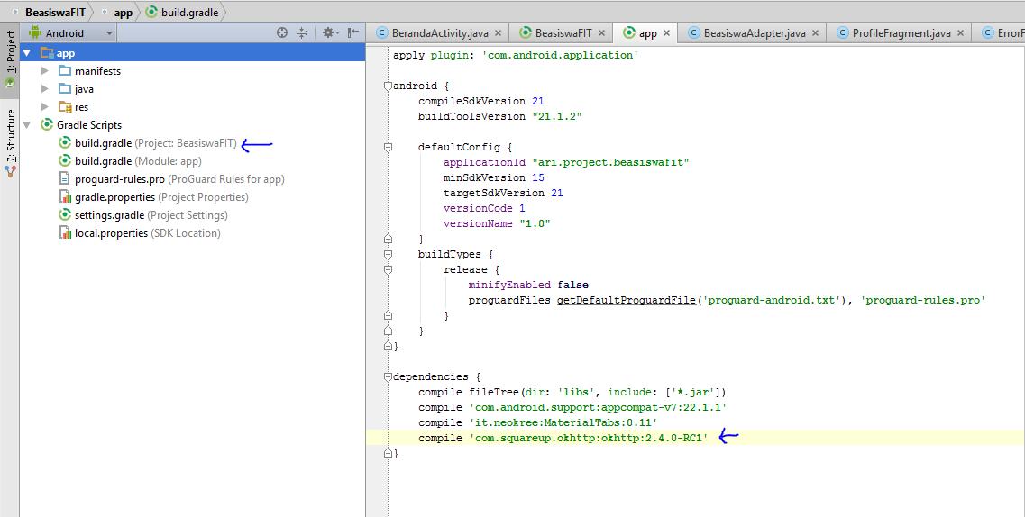 Android Login Menggunakan MySQL dan PHP CodeIgniter API
