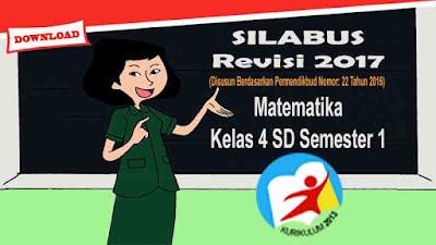 Silabus Matematika Kelas 4 SD