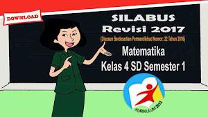 Silabus Matematika Kelas 4 SD Semester 1 Kurikulum 2013 Revisi 2017