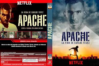 APACHE LA VIDA DE CARLOS TEVEZ 2019 [COVER - SERIES - DVD]