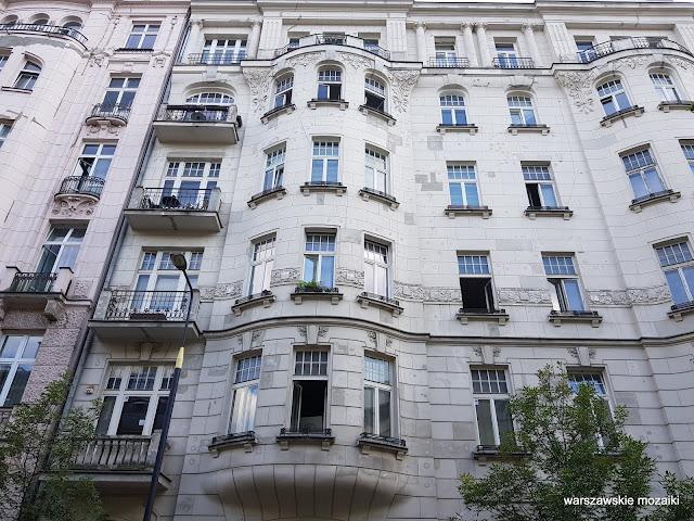 Warszawa Warsaw kamienica Śródmieście architektura architecture Józef Czerwiński Władysław Heppen Elektrownia Warszawska przedwojenna