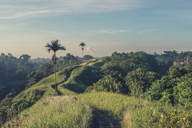 Hiking in Bali