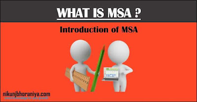 MSA Measurement System Analysis