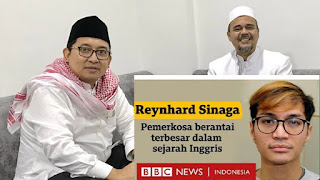 Fadli Zon Bongkar Beda Perlakuan Pemerintah Antara Reynhard Sinaga dan HRS