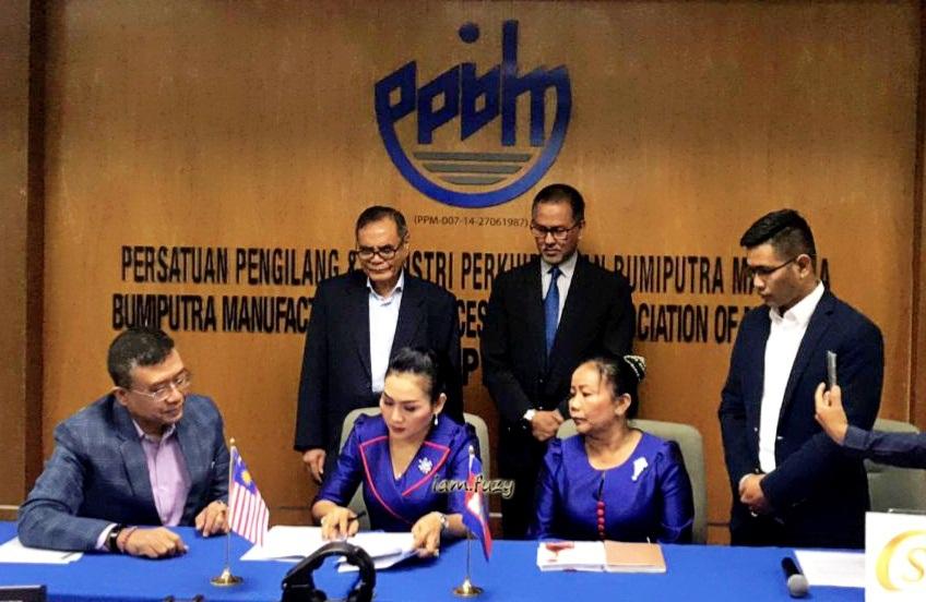 DIEM Duroil Memeterai Perjanjian Persefahaman Dengan CSK Cambodia