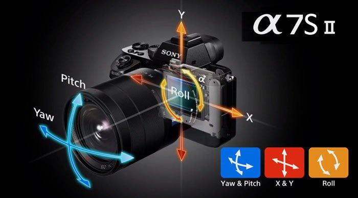 Возможности внутрикамерной стабилизации Sony A7S II