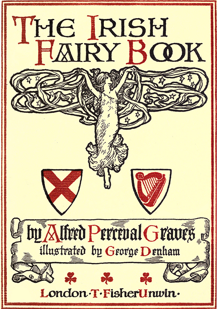 Ilustración de Libro de hadas irlandés 1909