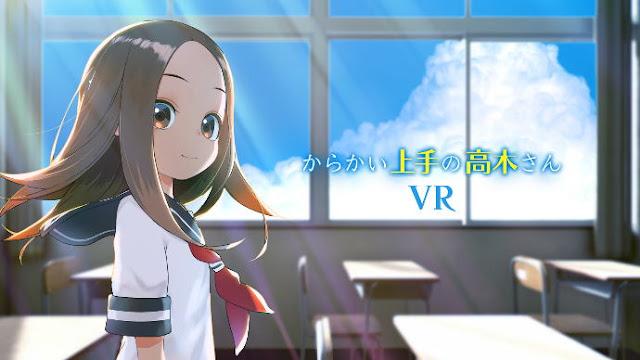 Teasing Master Takagi-san Manga Meluncurkan Crowdfunding untuk Anime VR