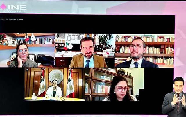 Firman INE y Cámara de Diputados convenio de fiscalización para legisladores que busquen reelección