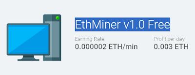 Cara Nambang Ethereum Coin di Ethminer.io