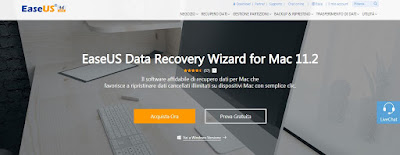 Recensione EASEUS Data Recovery Wizard for Mac
