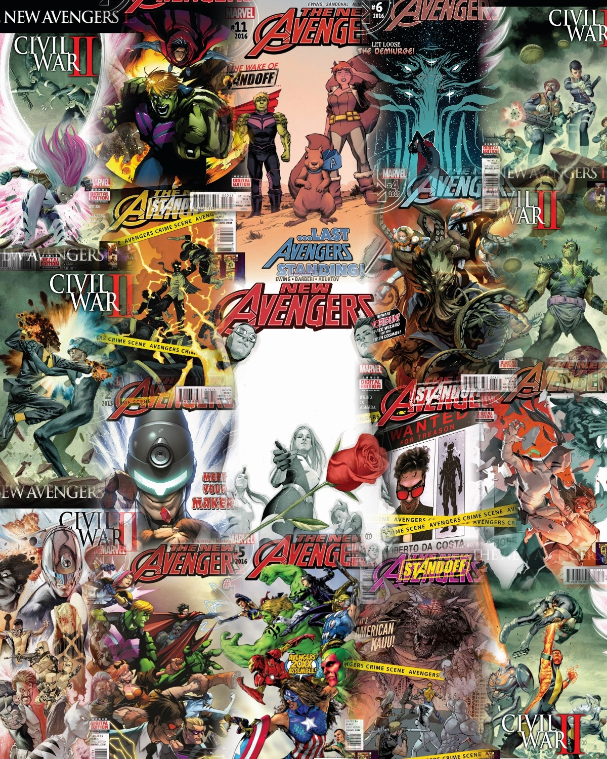 The New Avengers, Volumen 4: El Colectivo [Marvel] [Español]
