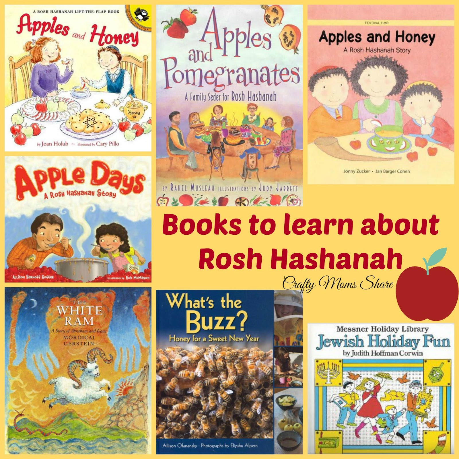 Crafty Moms Share Learning About Rosh Hashanah