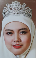 gandik diraja diamond tiara malaysia queen aishah selangor