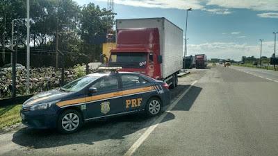 PRF aborda veículo que acumulava quase 600 evasões de pedágio na Régis Bittencourt