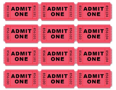 Doc500386 Tickets Printable Free Printable Admit One Ticket – Movie Theater Ticket Template