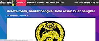 Yb kj youve been forewarned malaysian sports loose cannon bila bola sepak menjadi topik bicara pelbagai idea dicanai dan dibukukan isunya adalah sistem penyampaian atau pelaksanaannya malvernweather Gallery