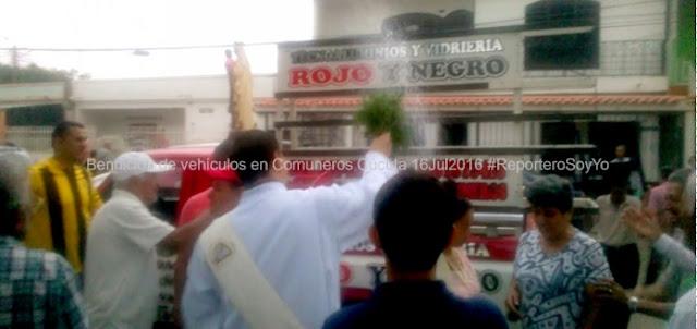 En Comuneros-Cúcuta, con eucaristía y caravana celebran 'Día de la Virgen del Carmen 2016' #GestiónSocial #LaborAltruista