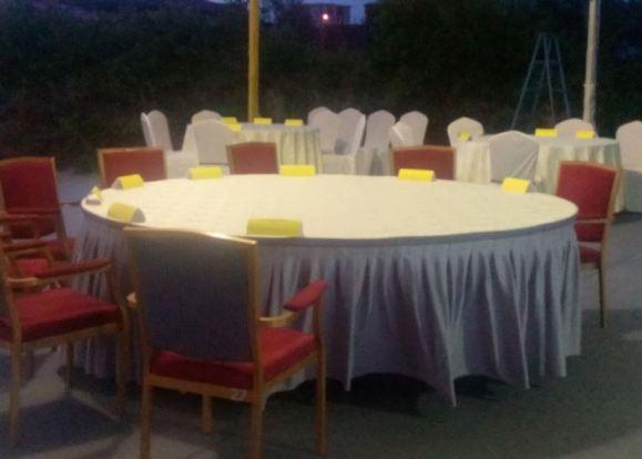 Kampong Pinang Sebatang Chalet dewan makan