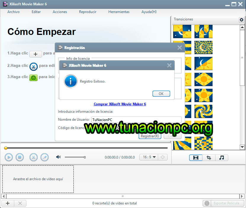 Descargar Xilisoft Movie Maker Final