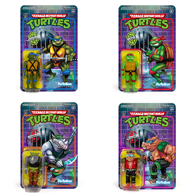 Teenage Mutant Ninja Turtles ReAction Figures Series 1 by Super7
