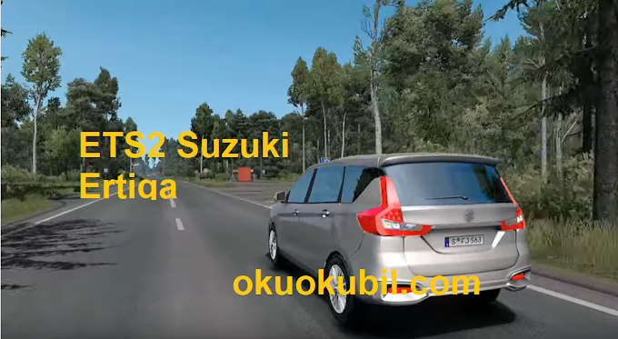ETS2 Suzuki Ertiga 1.35 Araba Modu İndir Eylül
