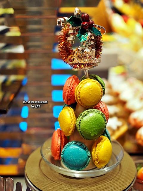 Christmas 2019 Sunway Hotel Resort Spa Dessert Menu - Assorted Macaroons